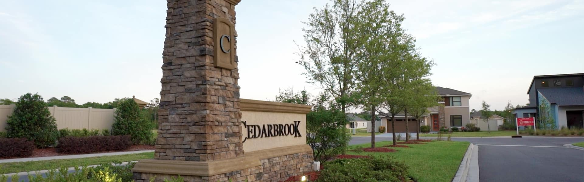 Cedarbrook community in Oceanway on Jacksonville`s Northside.
