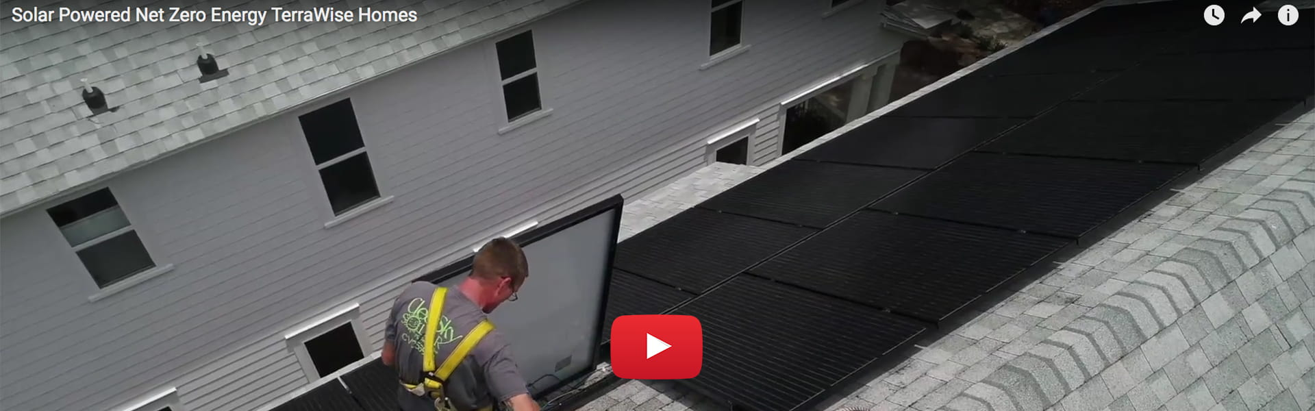Watch video to learn how Solar Powered Homes work.