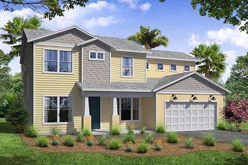 TerraWise Homes Rendering Link To Floor Plan Gallery